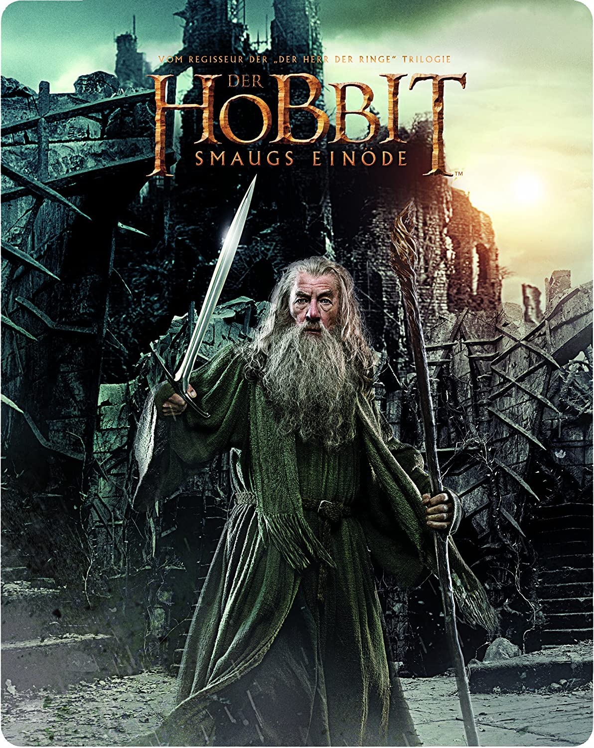 Der Hobbit: Smaugs Einöde Steelbook Blu-ray Limited Edition: Amazon ...