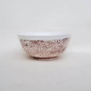Ceramic bowl, Hand painted Artistic Ceramic soup bowl, pottery bowl