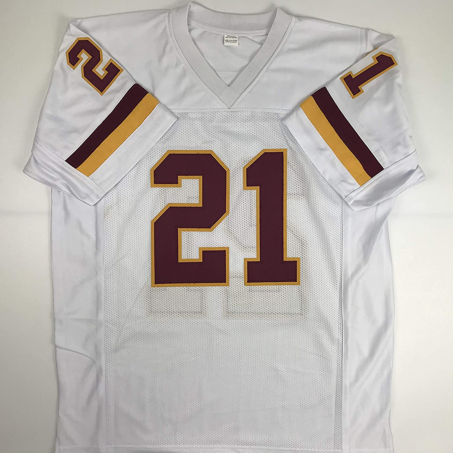 Amazon.com  Unsigned Sean Taylor Washington White Custom Stitched Football  Jersey Size Men s XL New No Brands Logos  Sports Collectibles cc7f5dfae