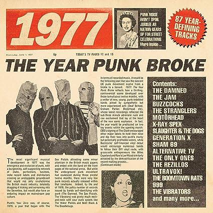 VARIOUS ARTISTS - 1977: The Year Punk Broke / Various - Amazon.com ...