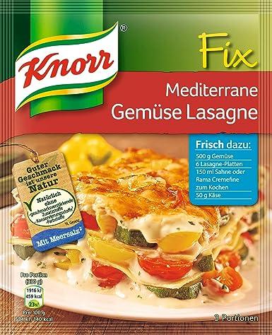 gemüse lasagne