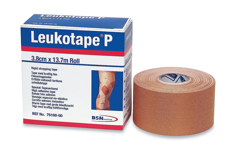 BSN Medical BEI076168 Leukotape P Sports Tape, 1 1/2 Inch x 15 Yard