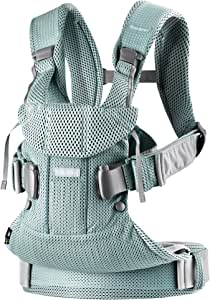BABYBJÖRN Baby Carrier One Air, 3D Mesh, Frost Green