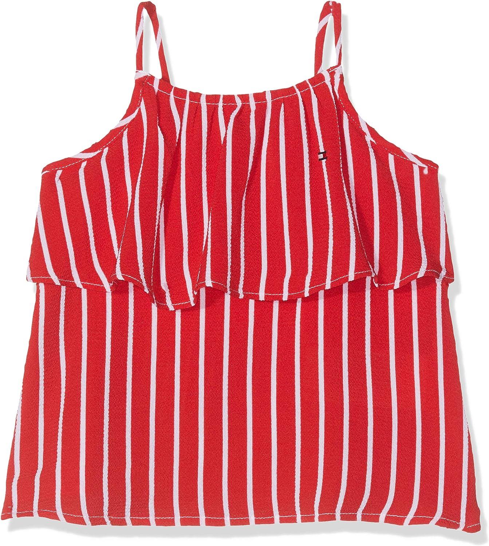 Tommy Hilfiger Baby Girls Fine Stripe Top Slvls Vest