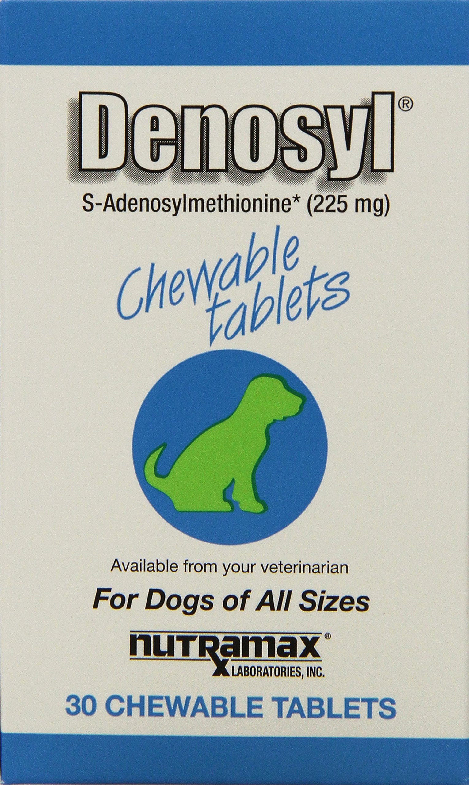 Denosyl 225mg Chewable Tablet, 30 Count, 3-Pack by Nutramax