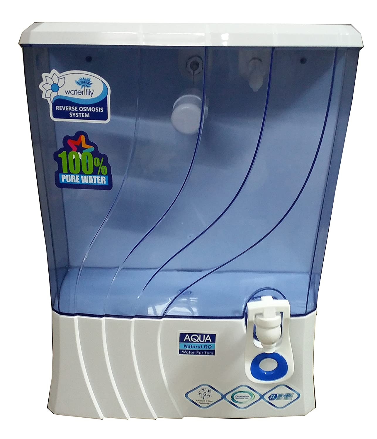 Waterlily Domestic R.O. System - 10 Ltr: Amazon.in: Home & Kitchen