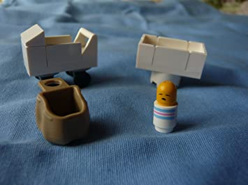 Lego Sack amazon com custom baby brick set lego stroller crib and sling sack