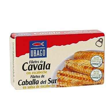 Filetes De Macarela Caballa En Salsa De Escabeche Ubago 85G