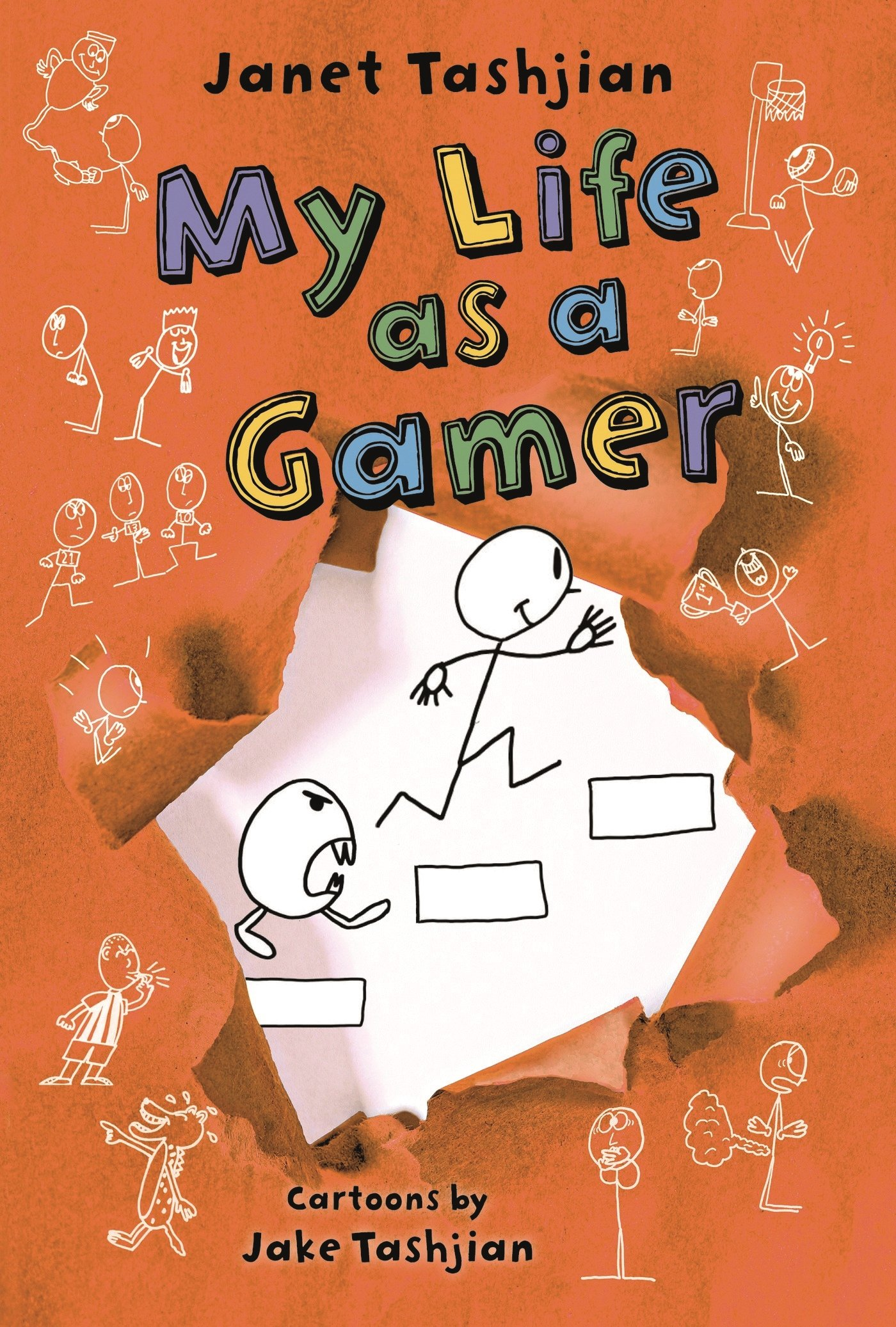 My life as a gamer the my life series janet tashjian jake my life as a gamer the my life series janet tashjian jake tashjian 9780805098518 amazon books fandeluxe Gallery