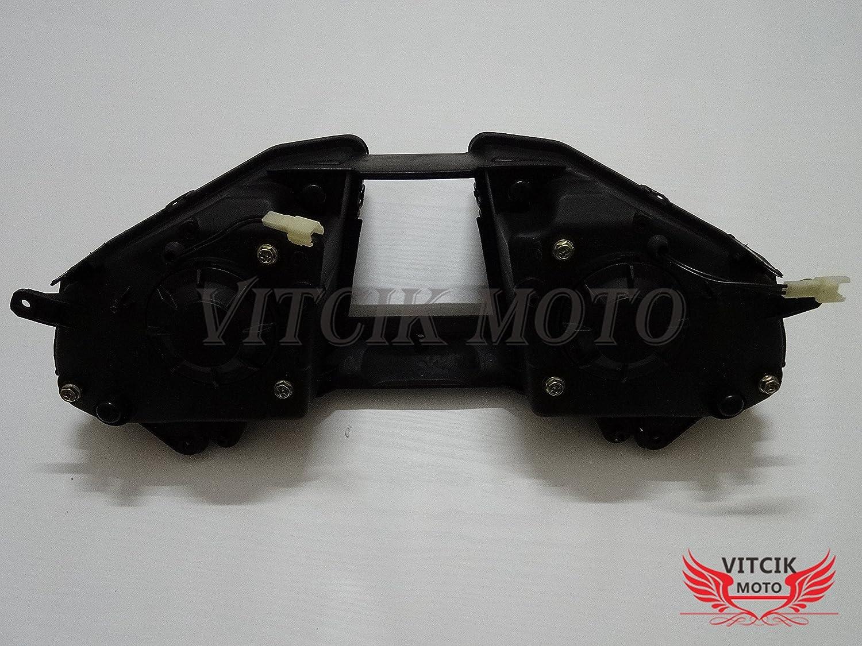 Black VITCIK Motorcycle Headlight Assembly for Yamaha YZF 600 R6 2008 2009 2010 2011 2012 2013 2014 2015 Head Light Lamp Assembly Kit