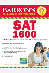 Barron's SAT 1600 with CD-ROM: Revised for the NEW SAT Paperback