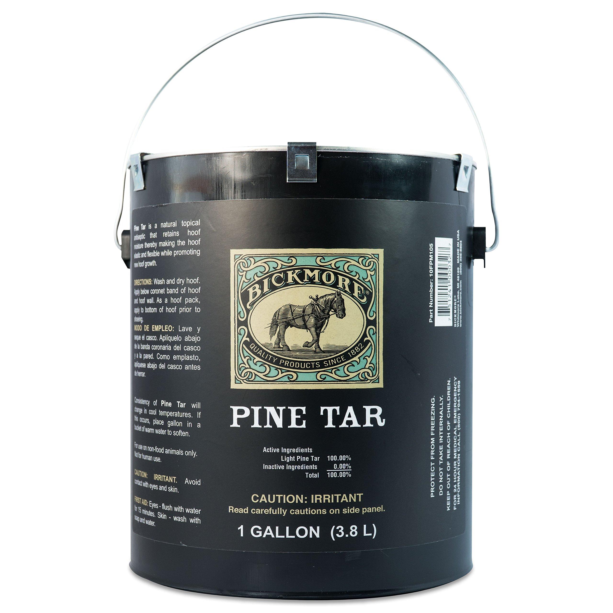 Bickmore Pine Tar 1 Gallon - Hoof Care Formula For Horses