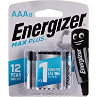 Energizer Max Plus AAA (Packaging may vary), 8ct