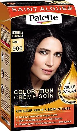 saint algue palette coloration permanente noir 900 - Coloration Permanente Noir