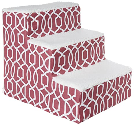 Pet Gear Soft Step III Pet Stairs, 3 Step For Petsup To 50 Lb