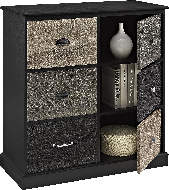 black panel armoire minibox scrapbooking original craft scrapbox product cabinet storage raised