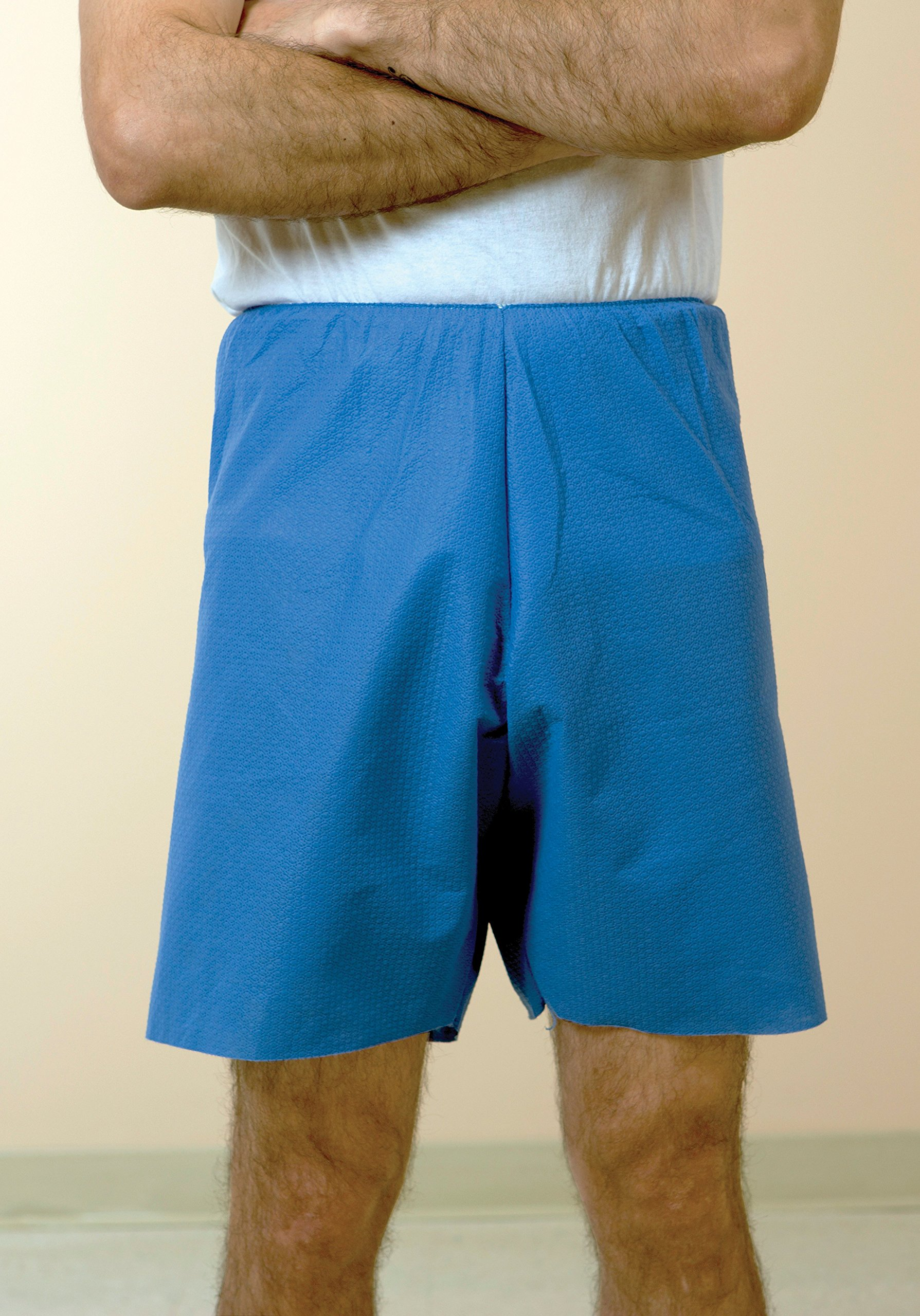 Encompass Group 45410-107 Exam Shorts, 5X-7X, Blue (Pack of 12)