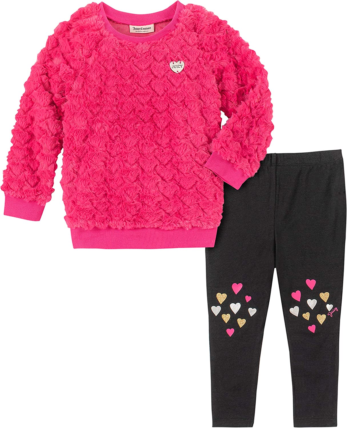 Juicy Couture Girls' 2 Pieces Legging Set