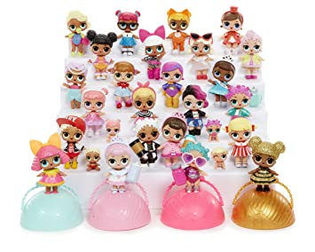 Personalised Edible Lol Dolls Cake Topper Icing Paper Various