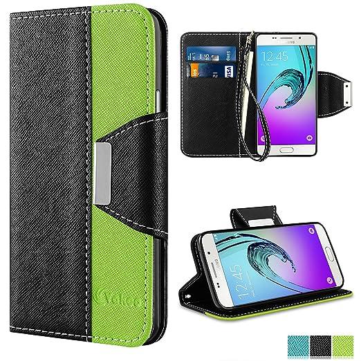 15 opinioni per Cover Samsung Galaxy A3 2016, Vakoo Galaxy A3 (2016) Custodia flip a portafoglio