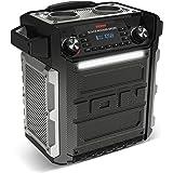 ION Audio Block Rocker Sport 100 W Portable Power Speaker Waterproof Bluetooth Connectivity and Battery Powered