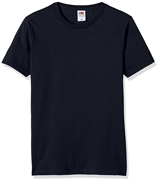 69e4d9ec7cac2 Fruit of the Loom Men s Fitted Valueweight T-Shirt  Amazon.co.uk ...