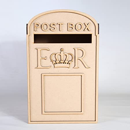 Wedding Post Box, Royal Mail Styled, Flat Pack, Unpainted MDF for ...