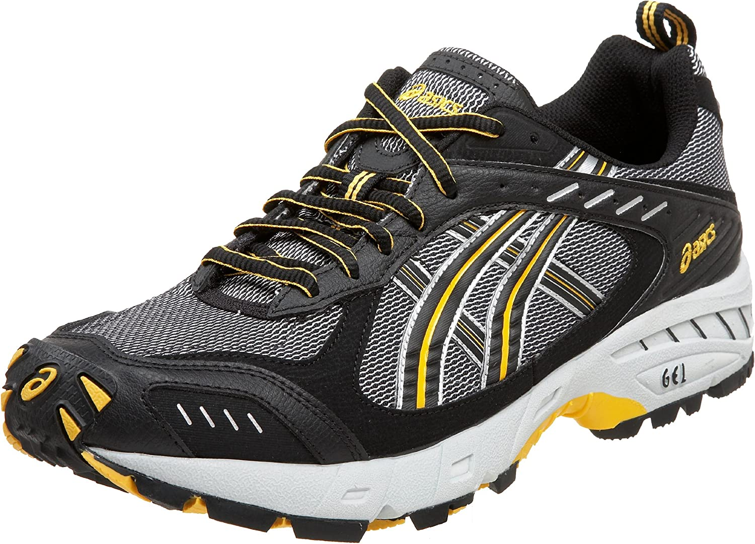 Asics Mens Gel-Odyssey Walking Shoes Black Sports Outdoors Water Resistant