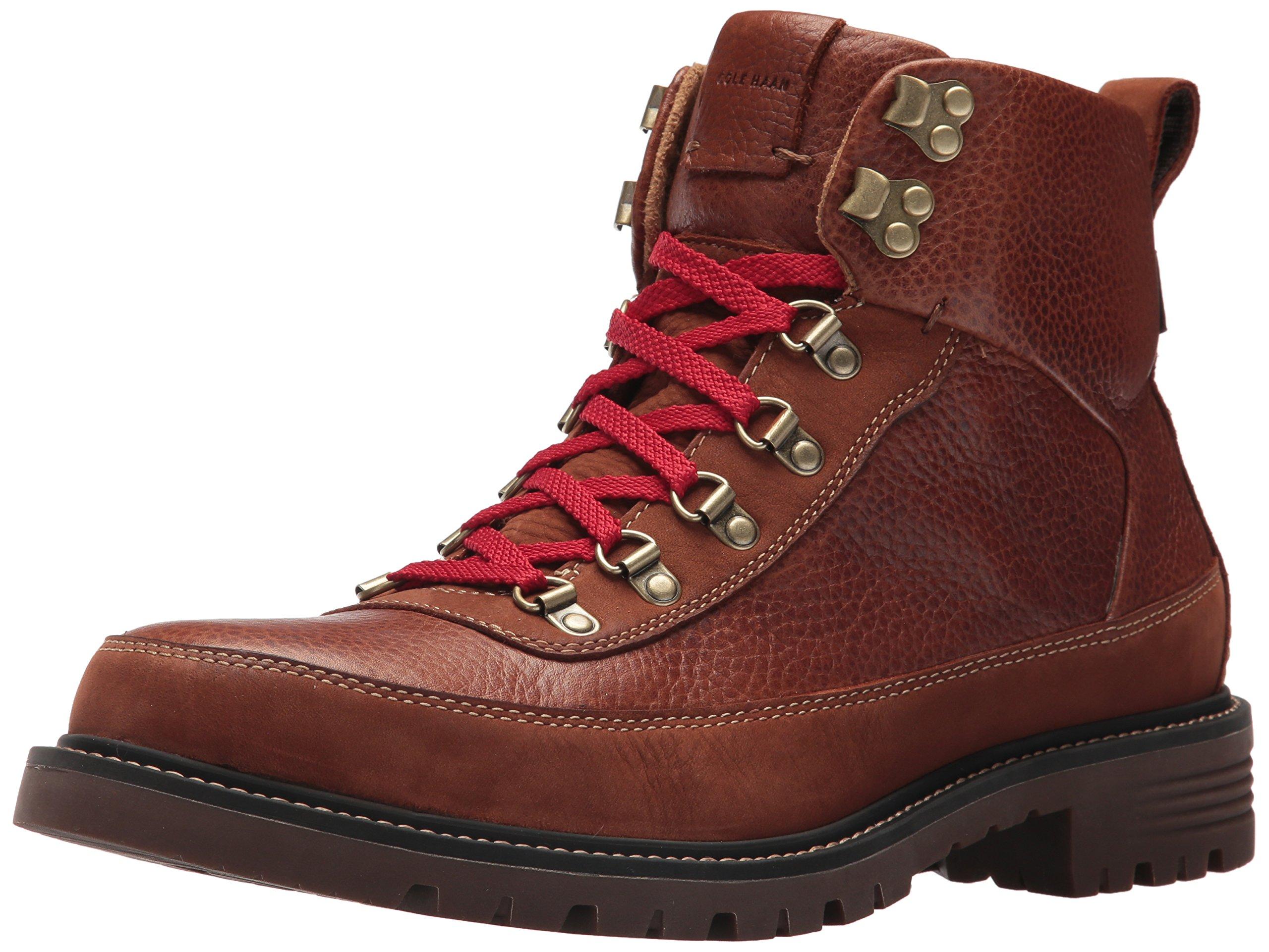 Cole Haan Men's Keaton Hiker WP II,Woodbury-Dark Roast Waterproof Leather,9 Medium US