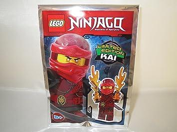 Blue Ocean Lego Ninjago - Ninja Figura Kai con 2 x Fuerzas ...