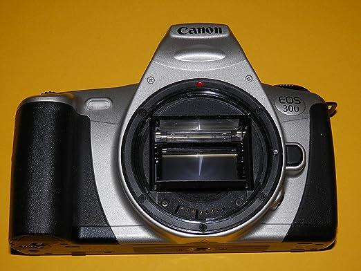 Canon EOS 300 – Cámara réflex de – sin objetivo – Camera analógica ...