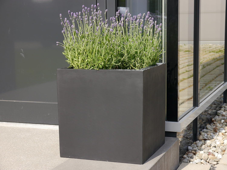 Blumenkübel pflanzkübel aus fiberglas quadratisch blumenkübel pflanzgefäß