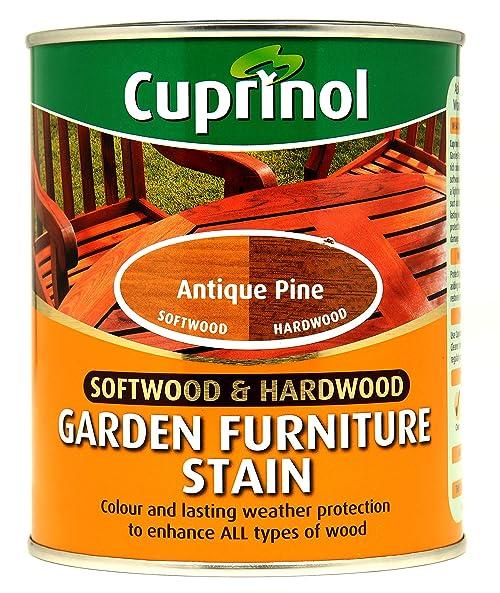 CUPRNOL 5158526 Garden Furniture Stain Exterior Woodcare, Antique Pine