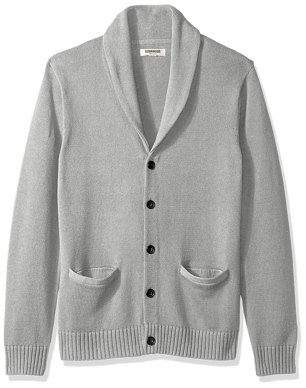 38b8ce86e Amazon.com  Goodthreads Men s Soft Cotton Shawl Cardigan Sweater ...