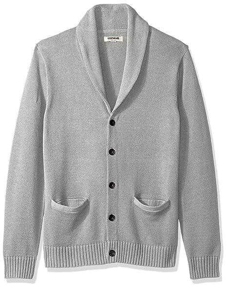 2a0ee805df9 Amazon Brand - Goodthreads Men's Soft Cotton Shawl Cardigan Sweater