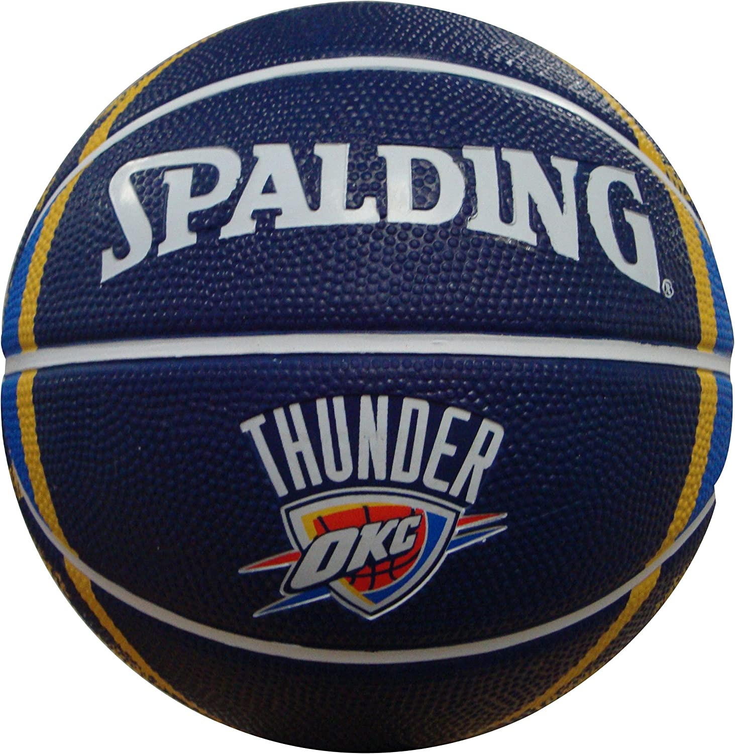 NBA Oklahoma City Thunder Mini Basketball, 7-Inches : Sports Fan Basketballs : Sports & Outdoors