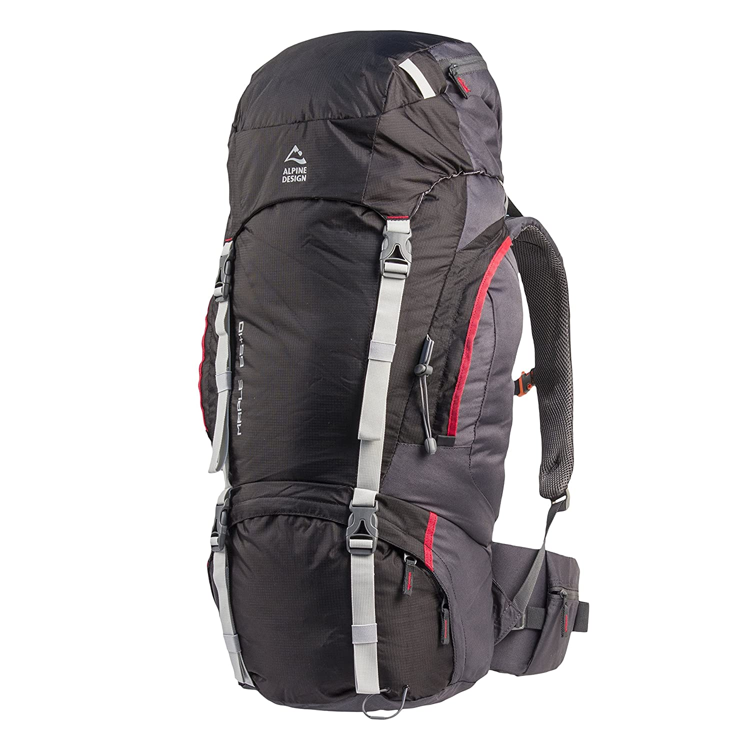 Amazon.com | Alpine Design Maple 65 + 10 (65 Liter) Trail Backpack Style: 252163 | Casual Daypacks