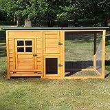 Zooprimus Hühnerstall 147 Geflügel-Auslauf - FLEXI - Stall für Außenbereich (für Kleintiere: Hühner, Geflügel, Vögel, Enten usw.) (Stall Flexi Standart)