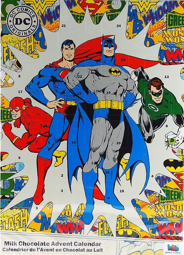 Justice League DC Christmas Chocolate Advent Calendar Bon Bon Buddies