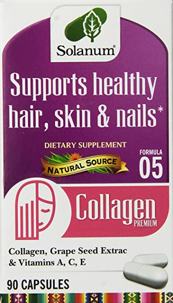 Solanum Collagen Supplement, 90 Count
