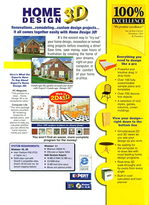 Home Design 3d Cd Rom By Expert Software