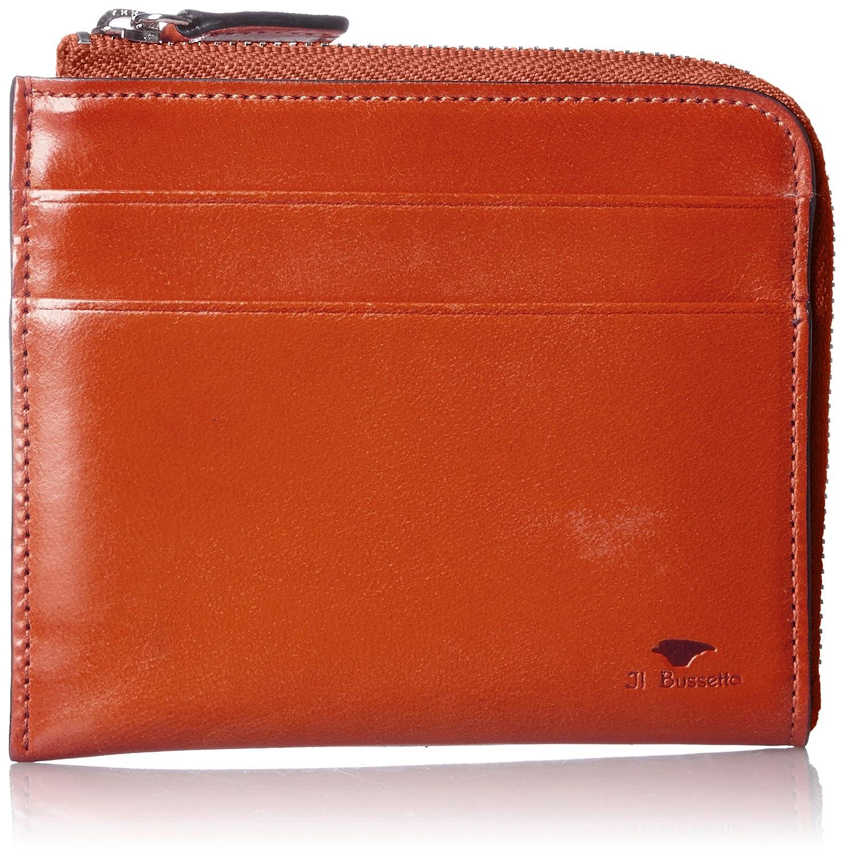 [イルブセット] Il Bussetto L字ファスナー財布 B00I3GKW88 オレンジ オレンジ
