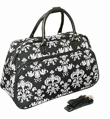 Lightweight Large Capacity Portable Luggage Bag Cute Dancing Deer Travel Waterproof Foldable Storage Carry Tote Bag