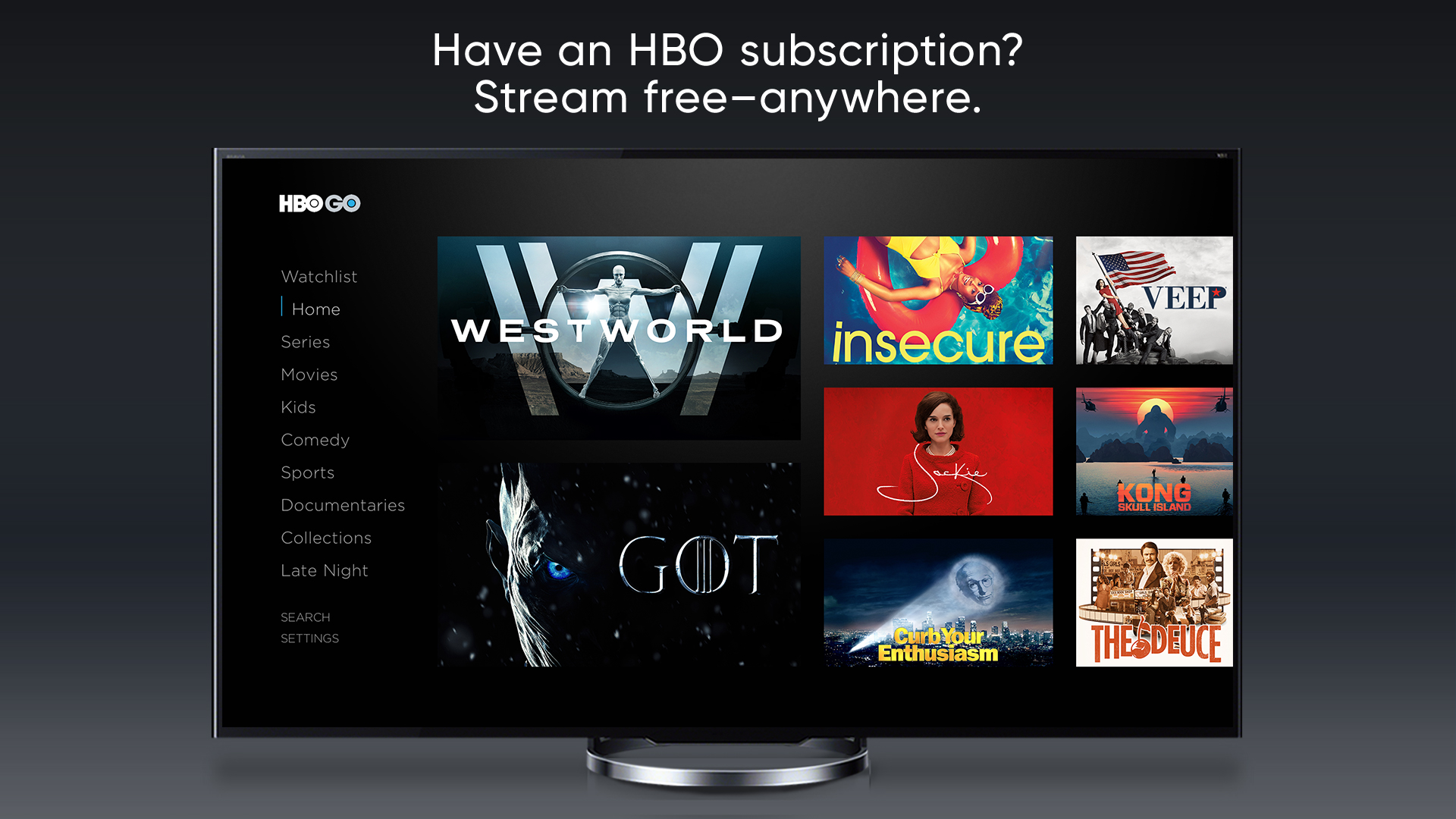 Hbo go app for android