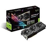 ASUS ROG Strix GeForce GTX 1080 8GB 11Gbps Advanced Edition VR Ready HDMI DP DVI Gaming Graphics Card (ROG-STRIX-GTX1080-A8G-11GPBS)