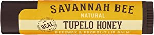 Savannah Bee Company Tupelo Organic Beeswax Lip Balm, 1 Stick