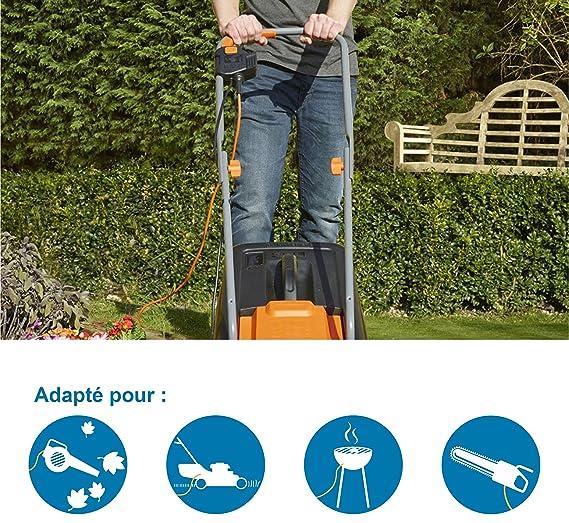 Electraline 01357 Cable alargador eléctrico para jardín (30 m ...