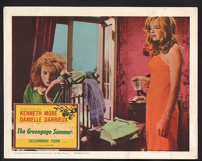 Amazon.com: MOVIE POSTER: Greengage Summer Lobby Card-Danielle ...