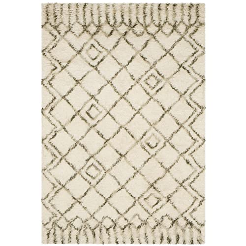 Momeni Rugs Spencer Collection, 100 Wool Hand Hooked Traditional Area Rug, 3 6 x 5 6 , Beige