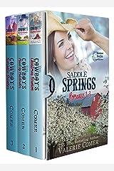 Saddle Springs Romance 1-3: A Montana Ranches Christian Romance Kindle Edition